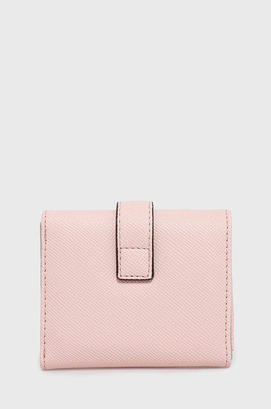 Guess - Peňaženka ružovo-červená