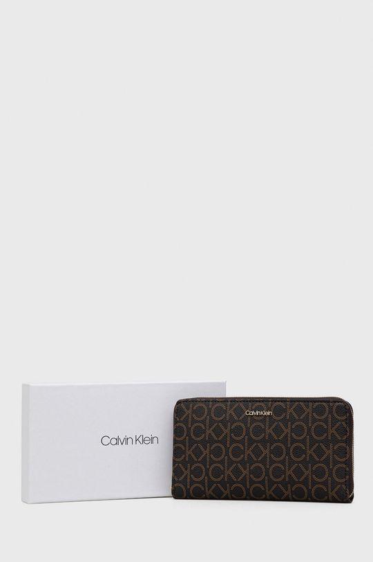 brązowy Calvin Klein - Portfel