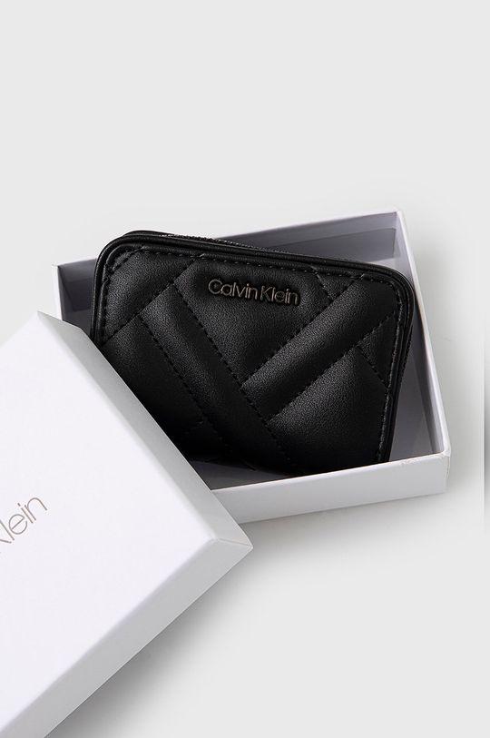 czarny Calvin Klein - Portfel