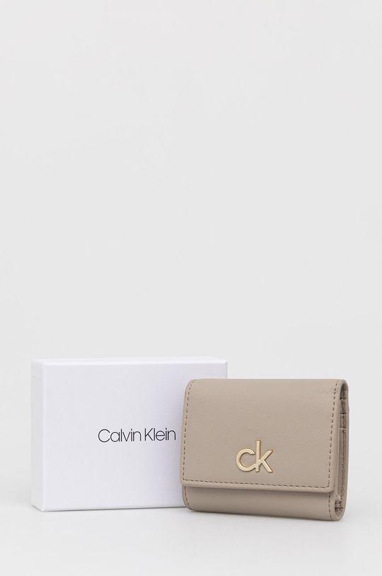 piaskowy Calvin Klein - Portfel