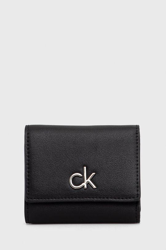 czarny Calvin Klein - Portfel Damski