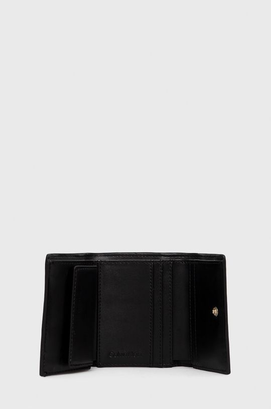 Calvin Klein - Portfel 25 % Poliester, 53 % Poliuretan, 22 % Inny materiał