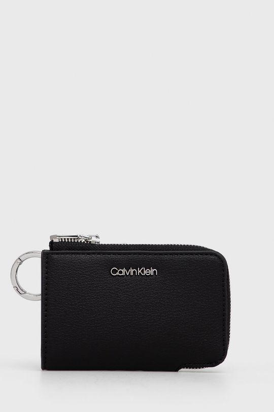 czarny Calvin Klein - Portfel skórzany Damski
