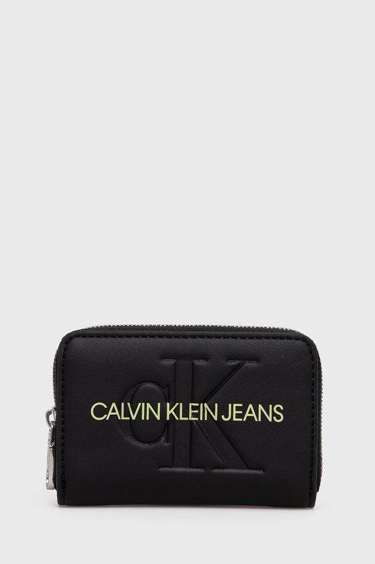 czarny Calvin Klein Jeans - Portfel Damski
