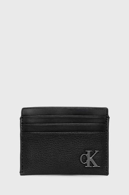 černá Calvin Klein Jeans - Pouzdro na karty Dámský
