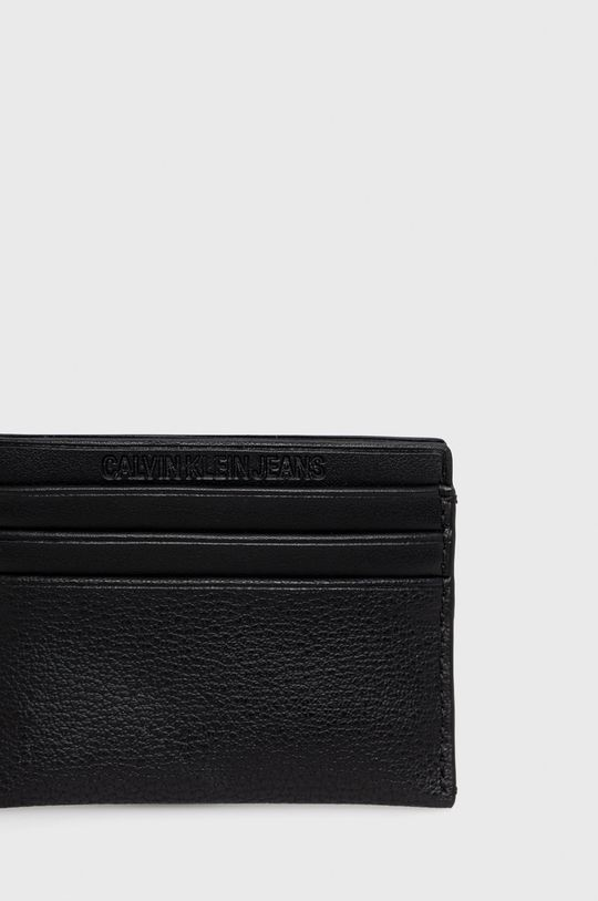 Calvin Klein Jeans - Pouzdro na karty  25% Polyester, 51% Polyvinyl, 2% Jiný materiál, 22% Termoplastický polyuretan