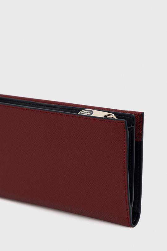 Tommy Hilfiger - Peněženka kaštanová