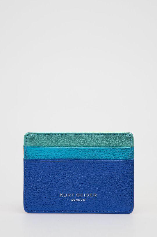 vícebarevná Kurt Geiger London - Kožená peněženka Dámský