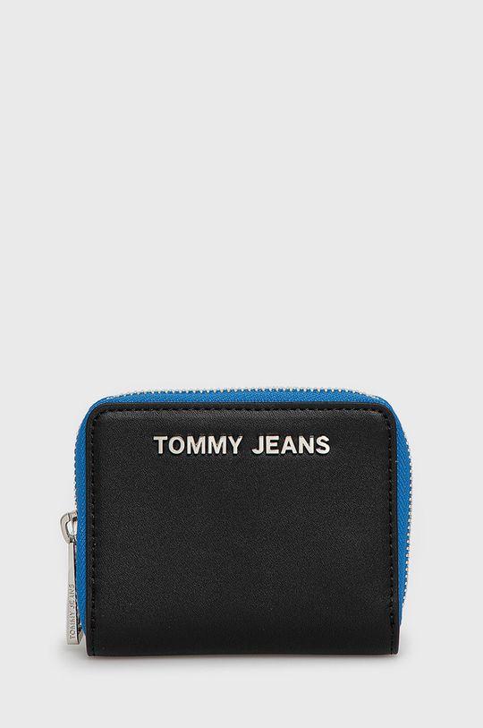 czarny Tommy Jeans - Portfel Damski