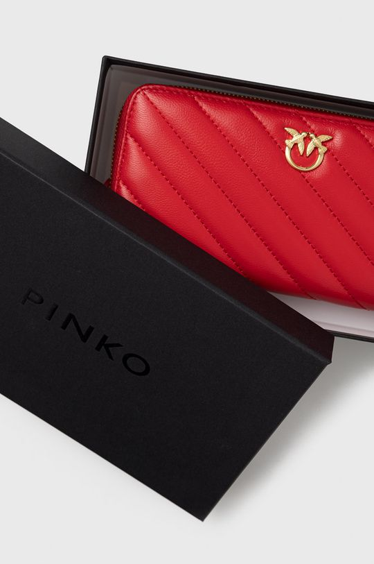 czerwony Pinko - Portfel skórzany