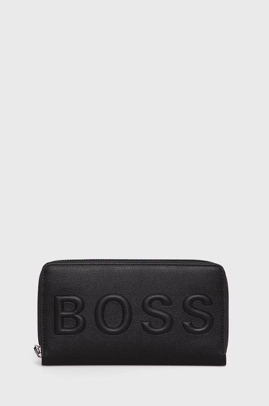 czarny Boss - Portfel Damski