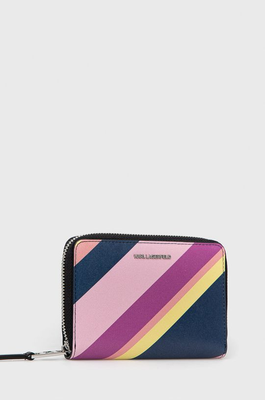 Karl Lagerfeld - Portfel skórzany multicolor