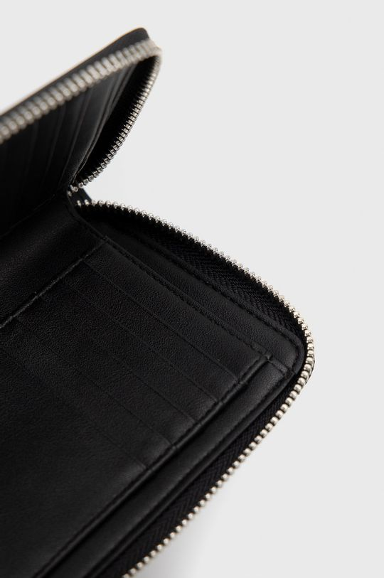 czarny Karl Lagerfeld - Portfel skórzany