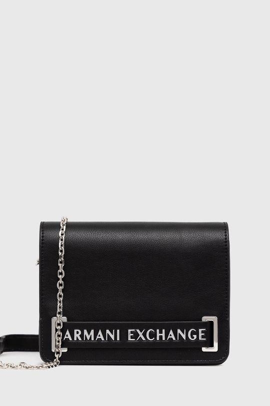 czarny Armani Exchange - Torebka Damski