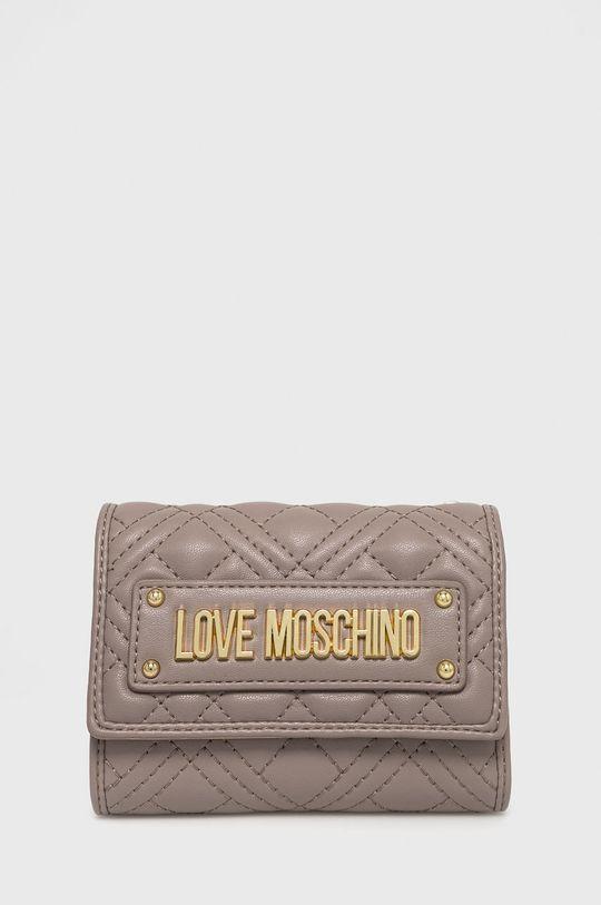 světle šedá Love Moschino - Peněženka Dámský