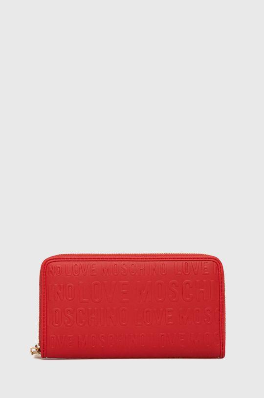 červená Love Moschino - Peněženka Dámský