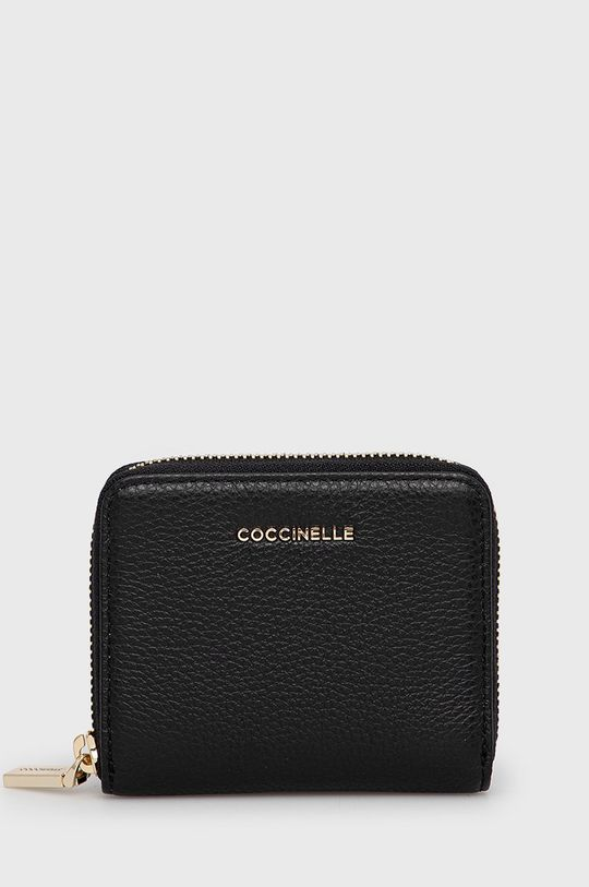 negru Coccinelle - Portofel de piele De femei