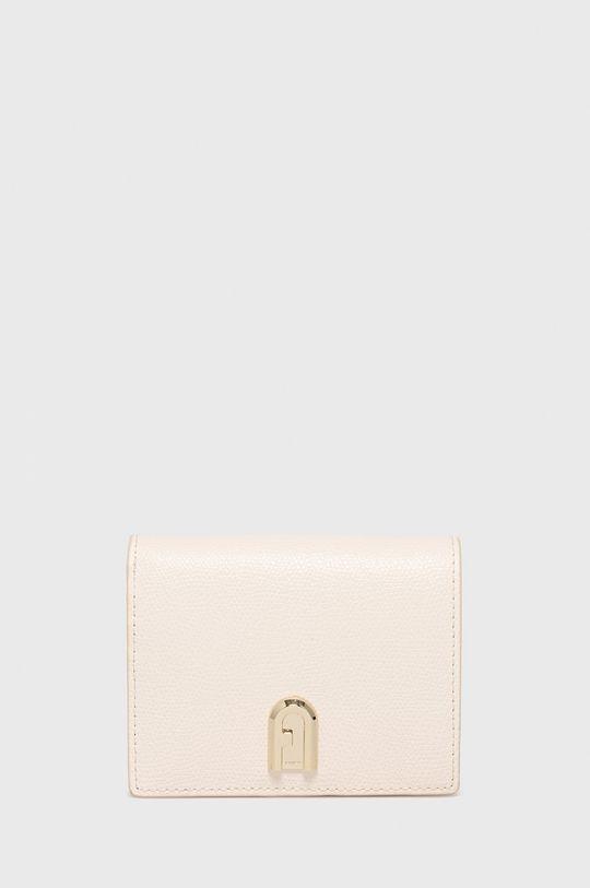 krémová Furla - Kožená peňaženka 1927 Dámsky