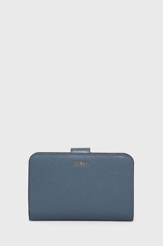 modrá Furla - Kožená peňaženka Babylon Dámsky