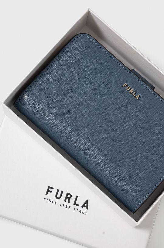 modrá Furla - Kožená peňaženka Babylon