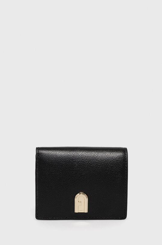 čierna Furla - Kožená peňaženka 1927 Dámsky