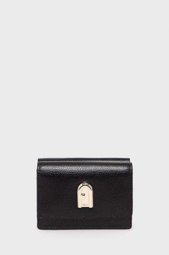 černá Furla - Kožená peněženka 1927 Dámský