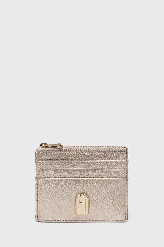 zlatá Furla - Kožená peňaženka 1927 Dámsky