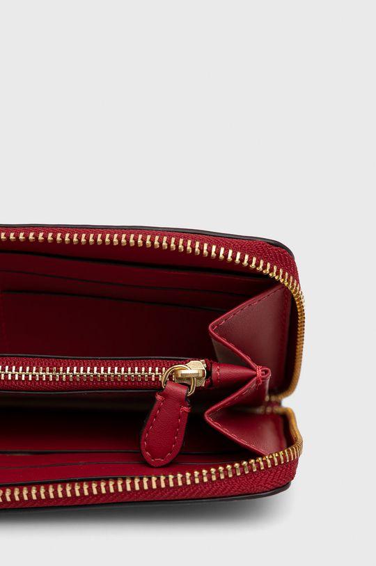 czerwony Lauren Ralph Lauren - Portfel skórzany