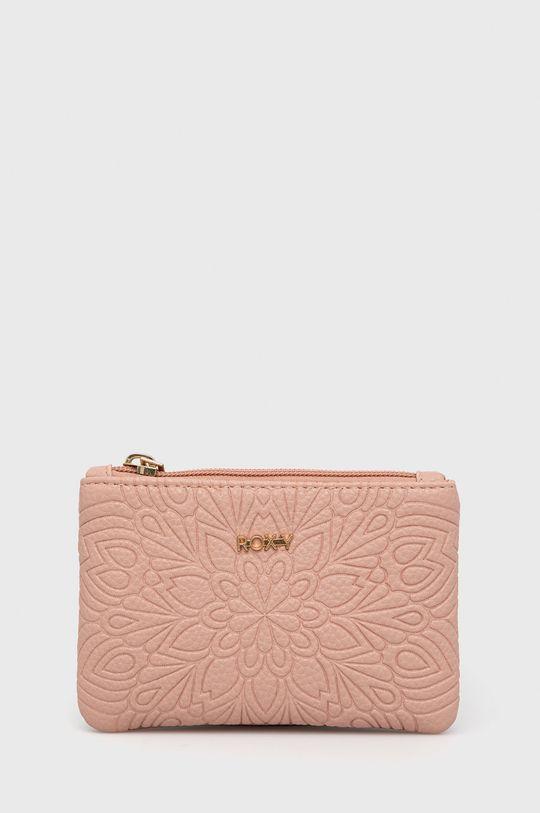 pastelowy różowy Roxy - Portfel Damski