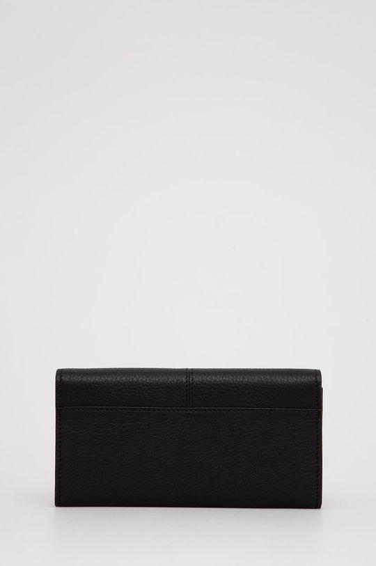 Marc O'Polo - Δερμάτινο πορτοφόλι μαύρο