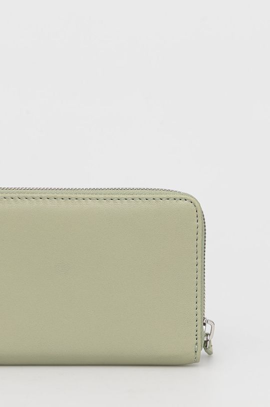 Marc O'Polo - Δερμάτινο πορτοφόλι χλωμό πράσινο