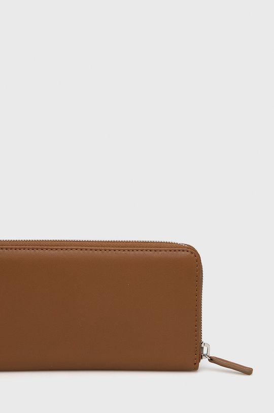 χρυσό καφέ Marc O'Polo - Δερμάτινο πορτοφόλι