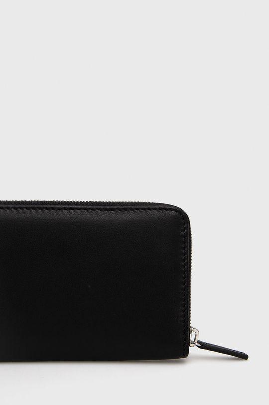 μαύρο Marc O'Polo - Δερμάτινο πορτοφόλι