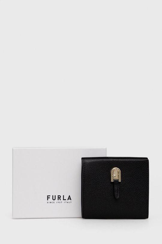 negru Furla - Portofel de piele Palazzo