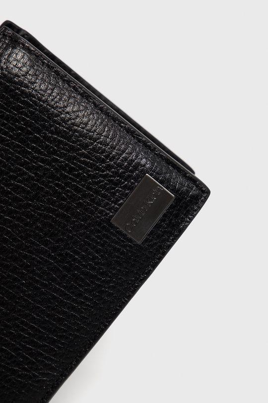 czarny Calvin Klein - Portfel skórzany