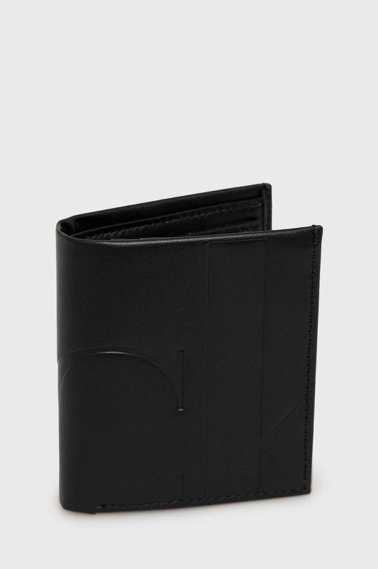 Calvin Klein Jeans - Portfel skórzany czarny