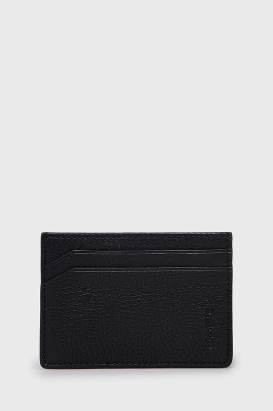 černá Hugo - Kožená peněženka Pánský