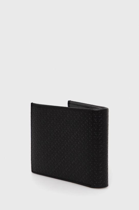 Calvin Klein - Portfel skórzany czarny