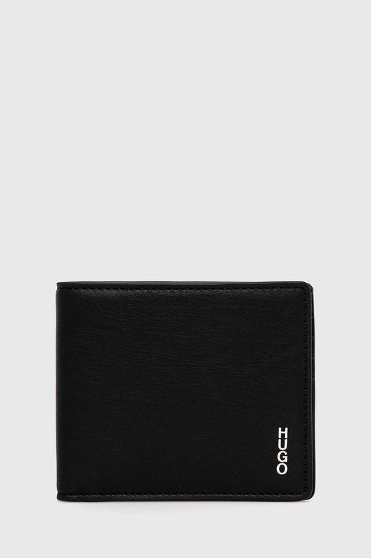 μαύρο Hugo - Δερμάτινο πορτοφόλι Ανδρικά