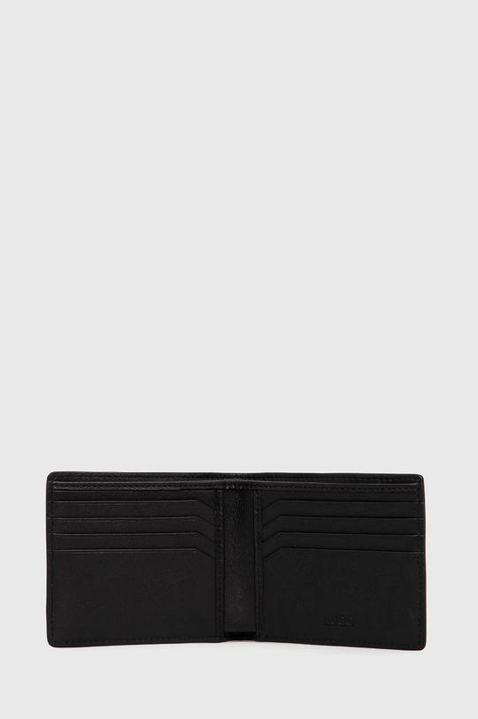 μαύρο Hugo - Δερμάτινο πορτοφόλι