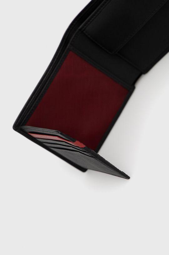 czarny Hugo - Portfel skórzany