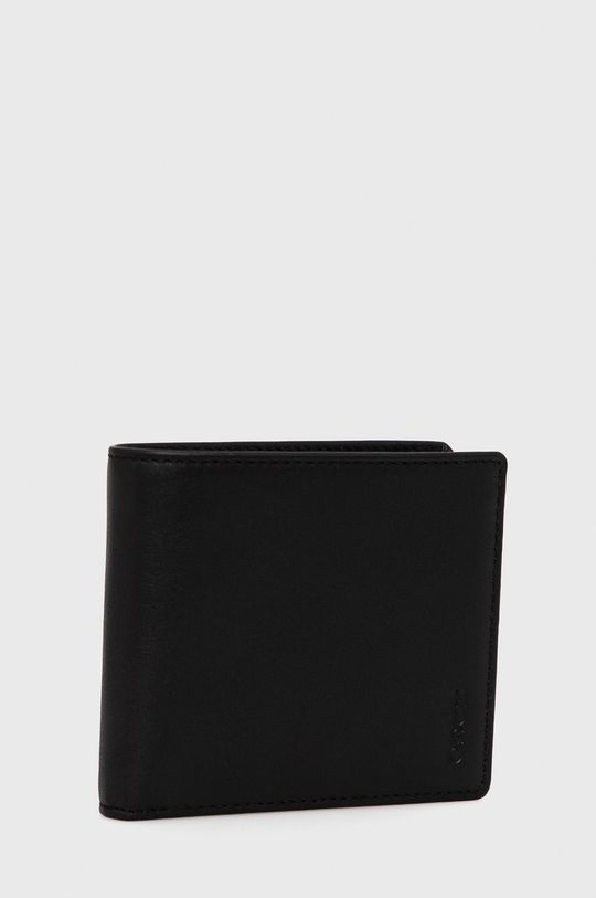 Hugo - Portfel skórzany czarny