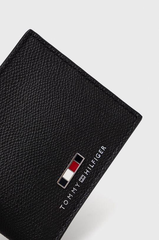 Tommy Hilfiger - Kožená peněženka černá