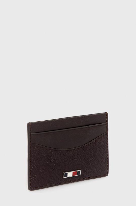 Tommy Hilfiger - Kožená peněženka mahagonová