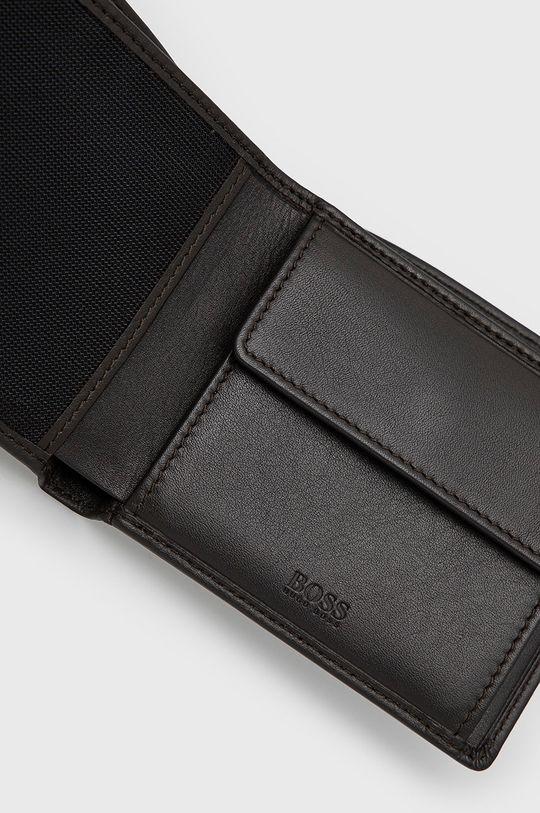ciemny brązowy Boss - Portfel skórzany