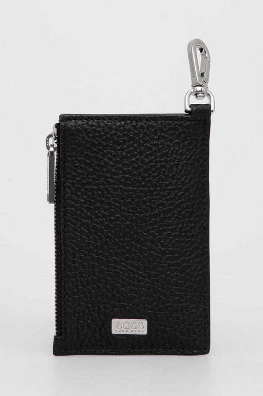 μαύρο Boss - Δερμάτινο πορτοφόλι Ανδρικά