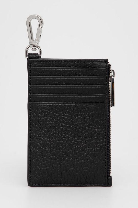 Boss - Δερμάτινο πορτοφόλι μαύρο