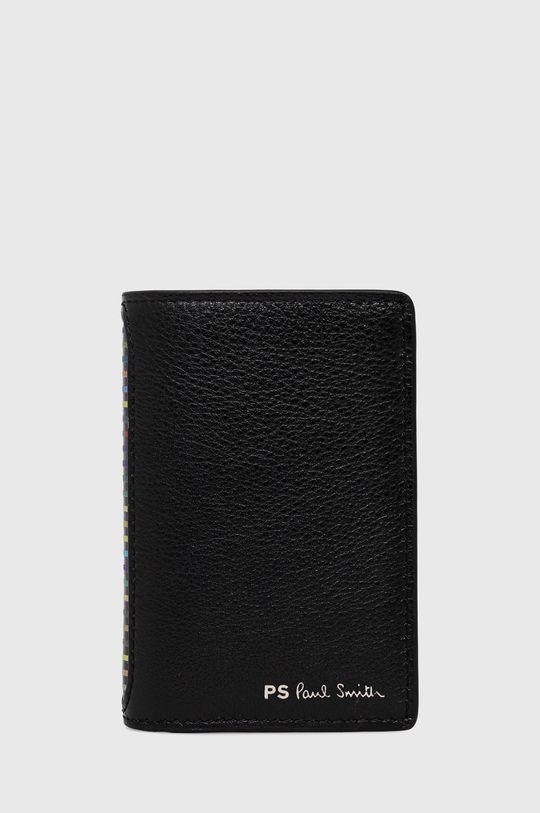 černá PS Paul Smith - Kožená peněženka Pánský
