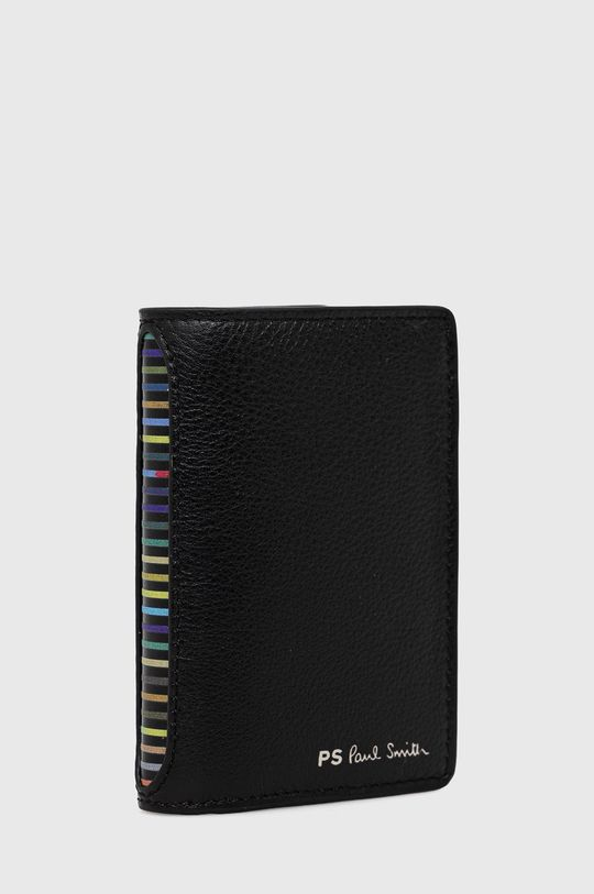 PS Paul Smith - Kožená peněženka černá