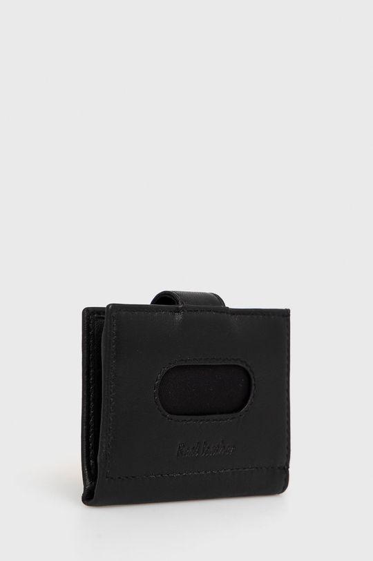 United Colors of Benetton - Portofel de piele negru